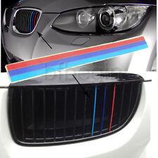 3 Colores Pegatina Grille Sticker para BMW M3 M5 E36 E46 E92 E60 E61 Etc