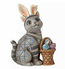 Enesco Jim Shore Heartwood Creek Mini Cat with Bunny Ears Nib 6008412