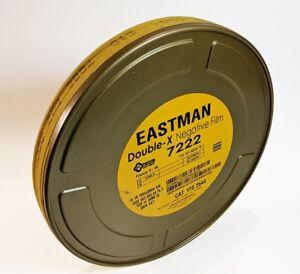 KODAK 16mm Double-X B&W Neg. Movie Film 7222 400FT 250 ISO *NEW FACTORY FRESH*