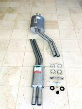 MERCEDES BENZ 350SL 450SL 450SLC R107 EXHAUST MUFFLER ANSA FRONT REAR PIPE SET