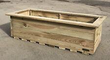 Simply Wood Signature Tanilised Trough Wooden Garden Planter – XL PLUS