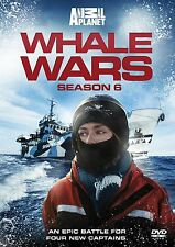 WHALE WARS Stagione 6 DVD in Inglese NEW .cp