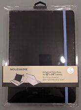 """Moleskine custodia universale NERO-BLU per Tablets da 9"""" a 10"""""""