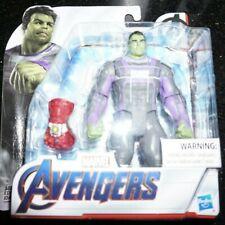 "Marvel Legends 6"" Endgame Professor Hulk Infinity Iron Man Nano Gauntlet New"