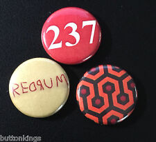 "The Shining overlook hotel redrum 1"" Campaign Pin Button Pinback Badge Lot #P009"