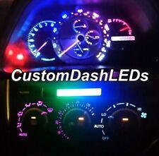 MULTICOLOURED RAINBOW Full Dash Kit LEXUS Is200 Is300 Led Speedo Altezza Cluster
