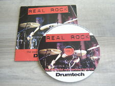 drum tutorial CD heavy metal hiphop drumming REAL ROCK lessons blues tutor learn