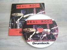drum tutorial CD heavy metal hiphop drumming REAL ROCK lessons blues tutor learn
