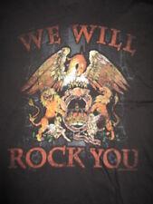 "2009 Queen ""We Will Rock You"" (Xl) T-Shirt Freddie Brian Roger John"