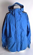 2014 MENS SESSIONS SUMMIT SERIES SNOWBOARD JACKET $230 L blue black white USED