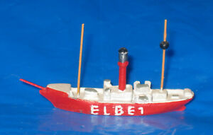 D Feuerschiff ELBE 1, Wiking?, Metall, 1:1250