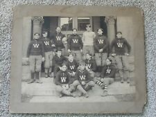 "Antique Photo Wyoming Seminary Football Team College 10"" x 13"" Photograph"