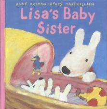 Lisa's Baby Sister (Gaspard and Lisa Books)-ExLibrary