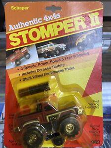 New  On Card Vintage 1980's Schaper Stomper II Chevy Scottsdale Step Side  #863