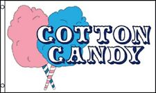 COTTON CANDY Flag Concession Advertising Sign Food Snack Bar Fair Pennant 3x5