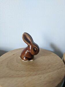 "Bourne Denby Miniature Rabbit 1.5"" Brown Rare"