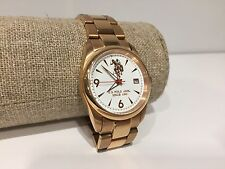 Nuevo - Reloj Watch Montre U.S. POLO ASSN. Sport Steel Golden Armis Strap 35 mm