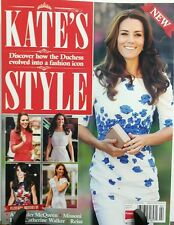 Kate's Style UK Issue 4 How Duchess Evolved Into a Fashion Icon FREE SHIPPING sb