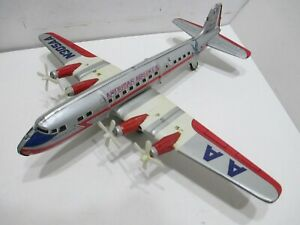 "AMERICAN AIRLINES DC-7 FLAGSHIP ALLISON TURNING PROPELLERS EXCELLENT COND 16""WS"