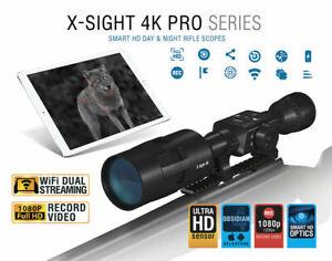 ATN X-Sight 4K Pro 5-20x Day/Night Vision + 64gb SD Card