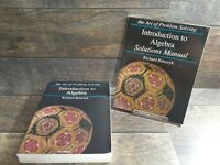 Introduction to Algebra Book & Solutions Manual Richa Rusczyk 2009 Paperback Set