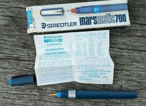 NEW in box RARE Vintage Staedtler Marsmatic 700 Technical Pen 035-T without ink