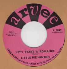 R&B REPRO: ARVEE  –LITTLE JOE HINTON - LETS START A ROMANCE / YOUR KIND OF LOVE
