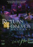 Return to Forever - Live at Montreux 2008 [New DVD] Bonus Tracks, Dolby, Digital