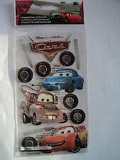 EK Success Disney Cars Lightning McQueen Dimensional Stickers Entièrement neuf sous emballage