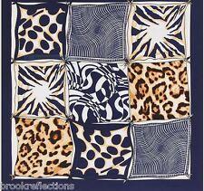 "100% Pure Silk Scarf 100x100cm""Stylish,Elegant- Silk-Art Premium Collection85*BR"