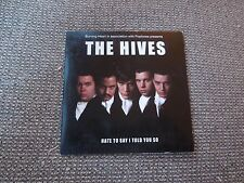 The Hives Hate To Say I Told You So RARE Promo CD Single
