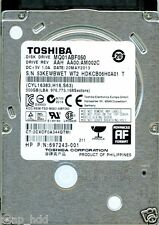 TOSHIBA 500GB MQ01ABF050  AAH AA00/AM002C