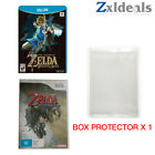 Box Protector Sleeve for Wii and Wii U Games PS2 XBOX Cube Clear Plastic Case