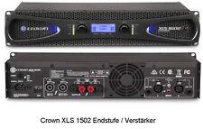 Crown XLS 1002 Endstufe PA-Verstärker mit sehr geringem Gewicht 2x350 Watt@4 ohm