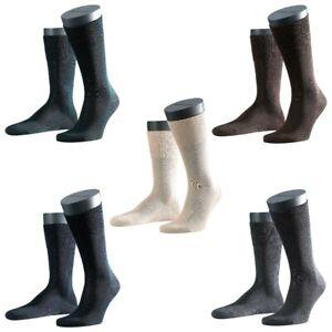 3 Pair Falke Men's Socks 14662 Tiago As Business Tights