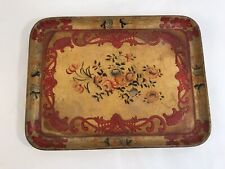 Vintage Distressed Japanese Alcohol Proof Serving Food Tray Hd5