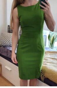 Classic CUE cute classy work corporate green dress sz10