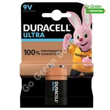 1 x Duracell 9V PP3 Ultra Power Alkaline Batteries, Smoke Alarms, LR22, MX1604