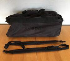 AVEDA Roller Duffle Bag / Backpack Cosmotology School Travel Case Large