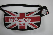 SEX PISTOLS UNION JACK LOGO HANDBAG OFFICIAL BNWT SHOP SOILED HENCE PRICE