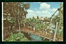Postcard Disney World Swiss Family Island Treehouse Adventureland. V