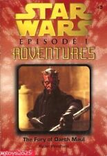 Star Wars Episode 1 The Fury of Darth Maul by Ryder Windham 1999 Paperback