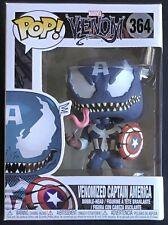 Funko Pop Marvel Venom N°364 Venomized Captain America Very Good Condition