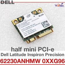 Tarjeta de red inalámbrica Wi-Fi WLAN PARA DELL MINI PCI-E 62230ANHMW 0XXG96 D09