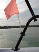 Wakeboard Tower Mount  Flag Holder (It Rotates)