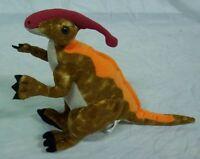 "K&M NICE PARASAUROLOPHUS DINOSAUR 10"" Plush STUFFED ANIMAL Toy"