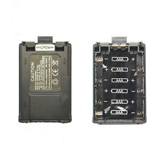 Battery Case for Baofeng Pofung UV-5R 5R SERIES TH-F8 ( 6 Pcs AAA Batteries)