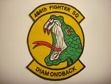 "US Air Force 466th FIGHTER SQUADRON ""Diamondback"" Patch"