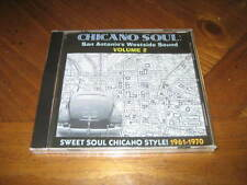 Chicano Soul San Antonio's Westside Sound Vol. 2 CD Oldies - Eptones Royal Five