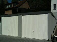 Doppel Garage Fertiggarage 6x7m Garagen  Fertiggaragen mit/ohne Trennwand